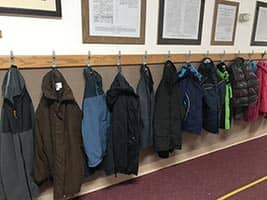 Donation of warm coats for the children of Montana